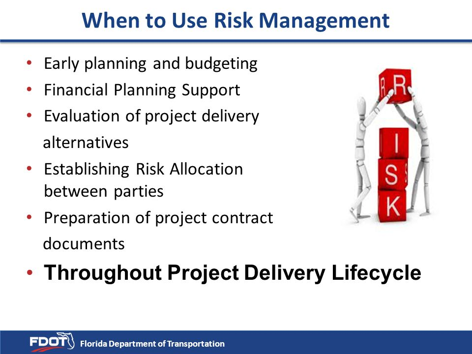 When to Use Risk Management