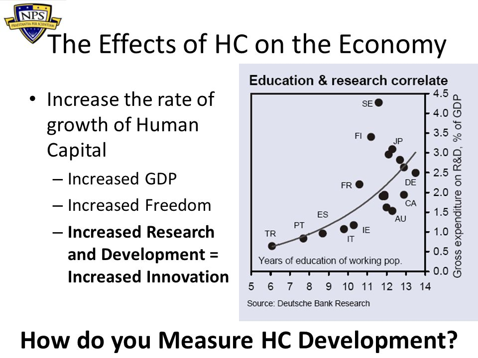 The Effects of HC on the Economy
