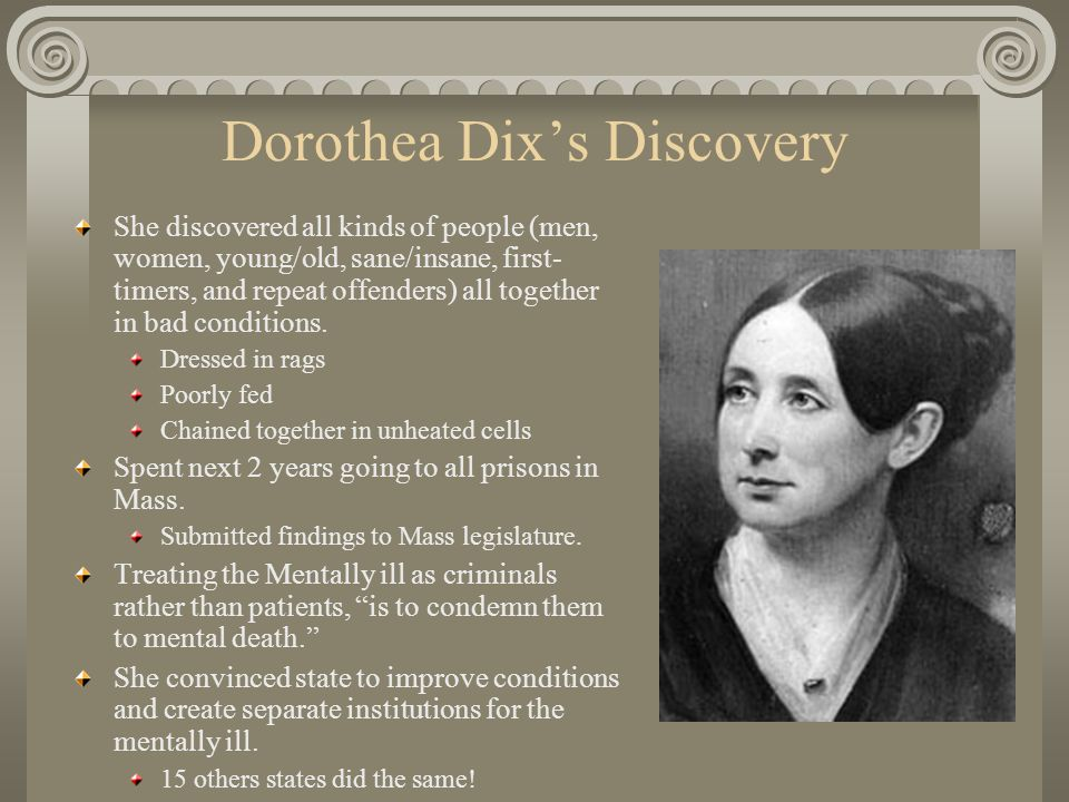 Dorothea Dix's Discovery