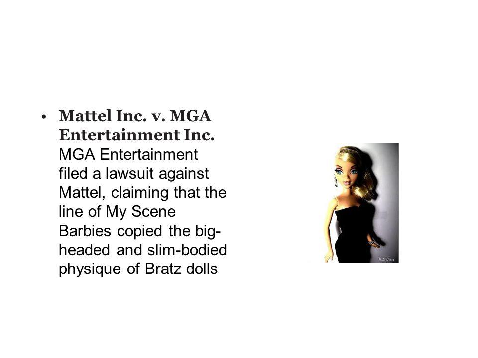 Mattel Inc. v. MGA Entertainment Inc