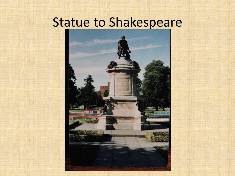 Statue to Shakespeare