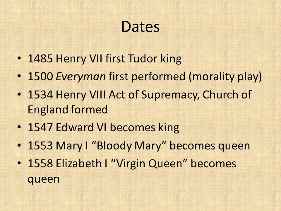 everyman after 1485