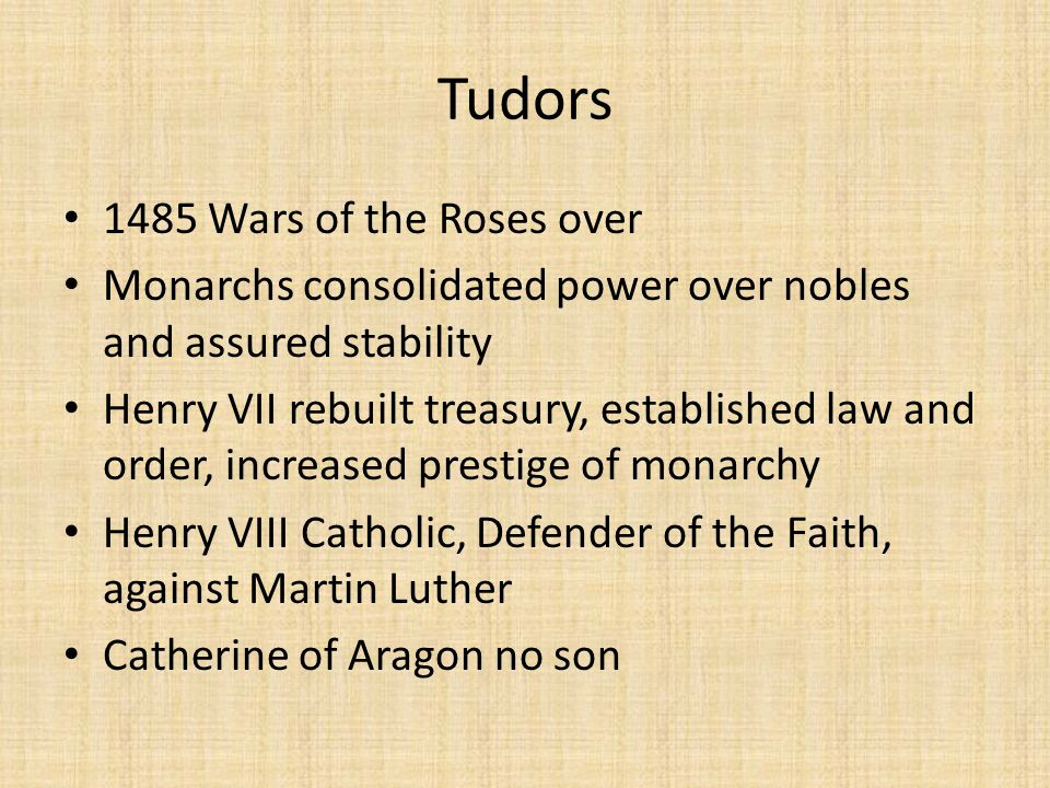 Tudors 1485 Wars of the Roses over