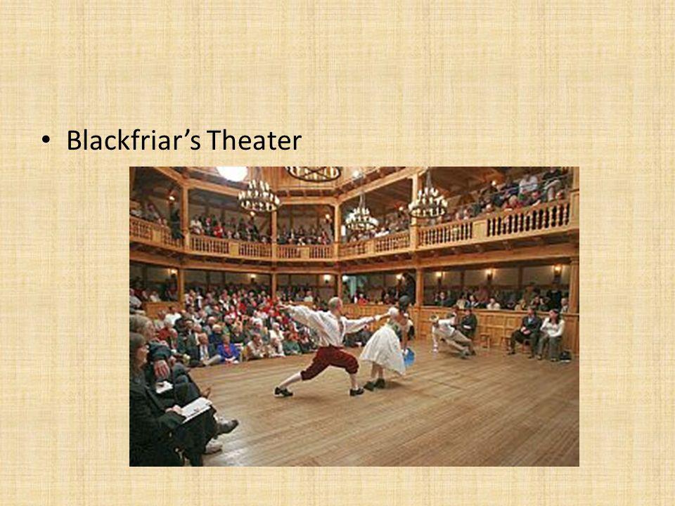 Blackfriar's Theater