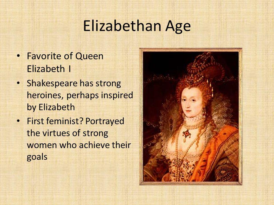 Elizabethan Age Favorite of Queen Elizabeth I