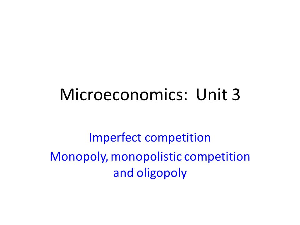 market competition microeconomics Competition serves 3 purposes inside the firm if it is effective 1 it forces the firm to at least match the prices of other firms the entry of a new competitor typically drives prices below the market clearing price is they attempt to captur.