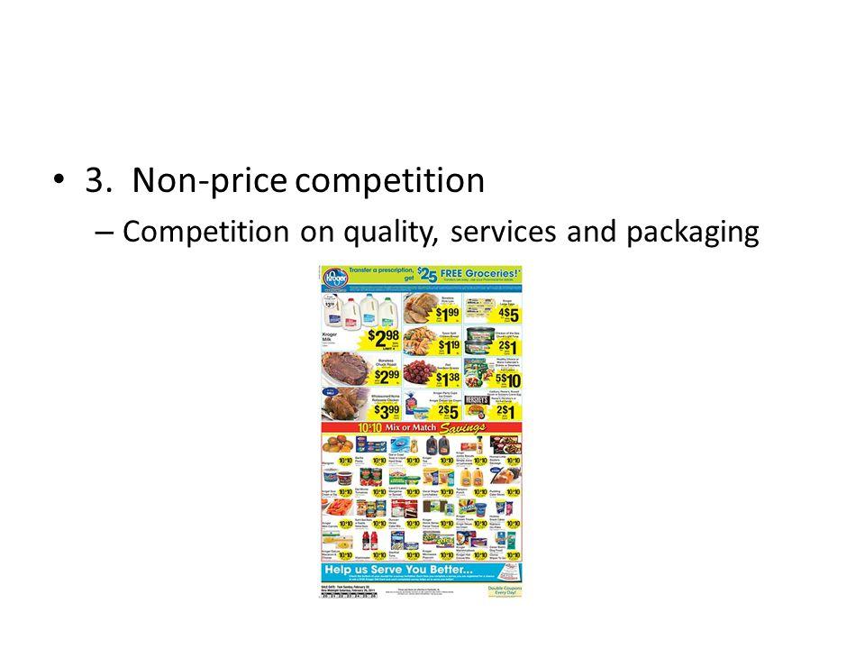3. Non-price competition