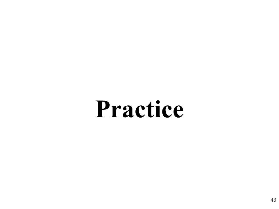 Practice 46