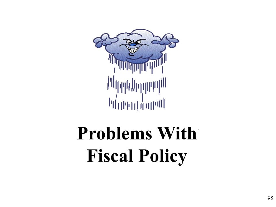 Problems With Fiscal Policy