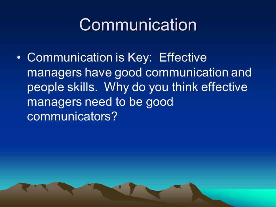Why Effective Communication is Important