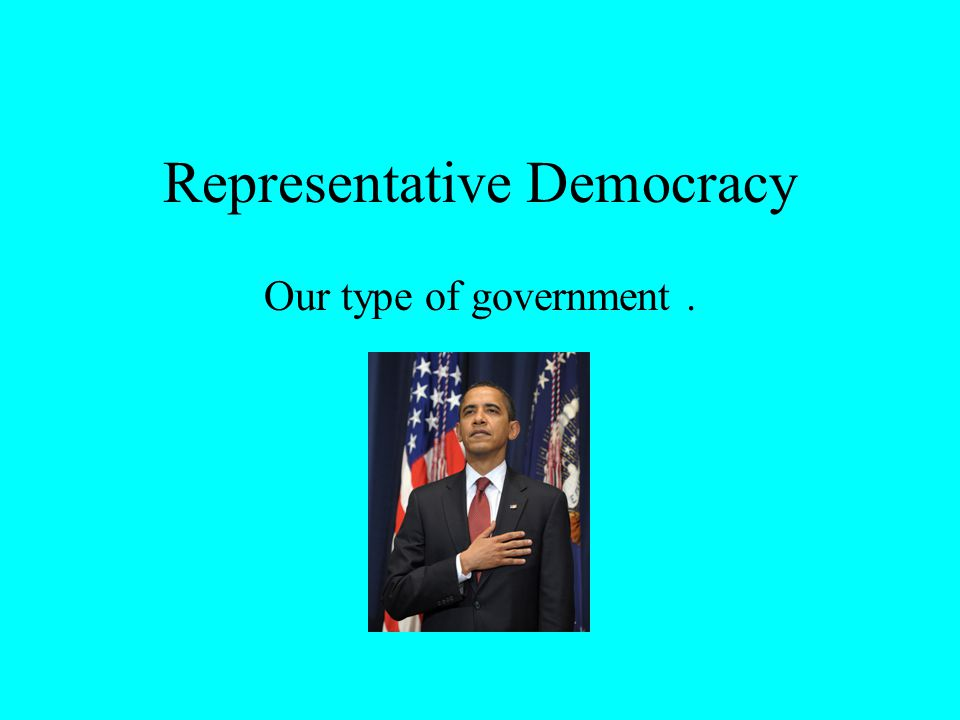 Representative Democracy