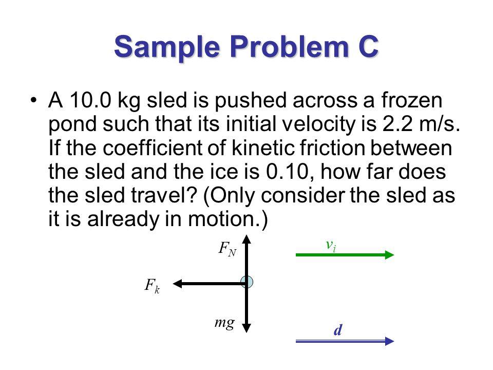 Sample Problem C