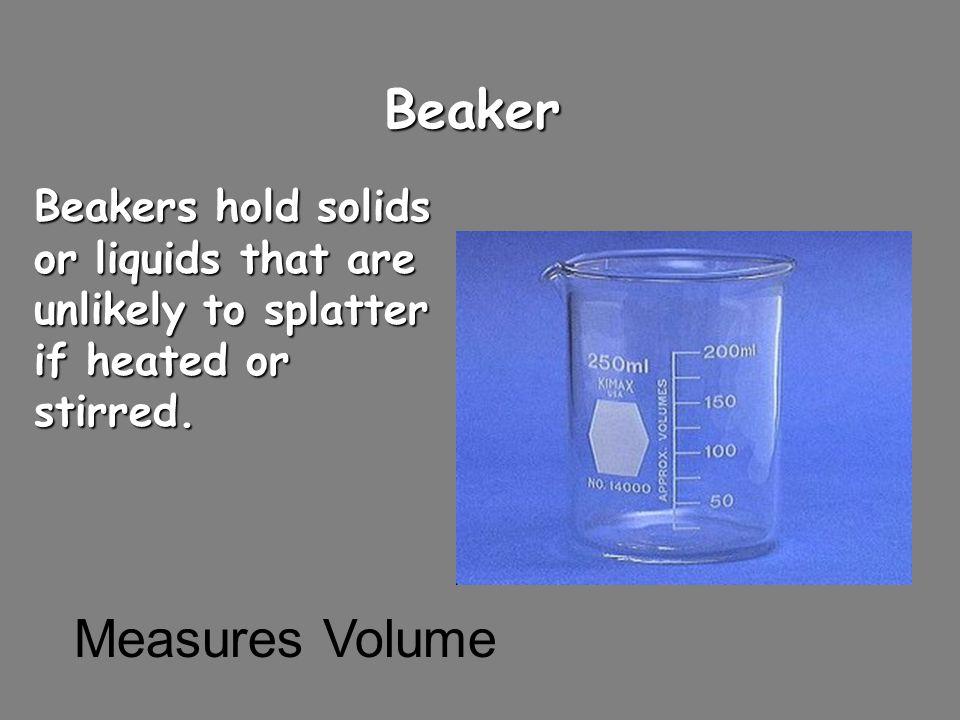 Beaker Measures Volume