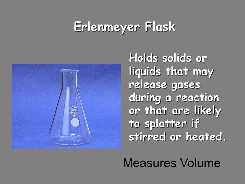 Erlenmeyer Flask Measures Volume