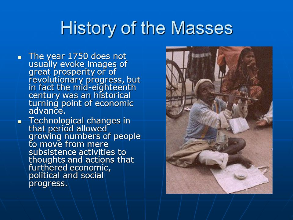 History of the Masses