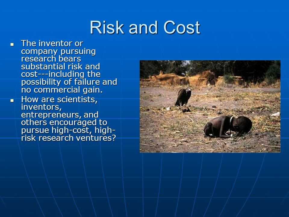 Risk and Cost