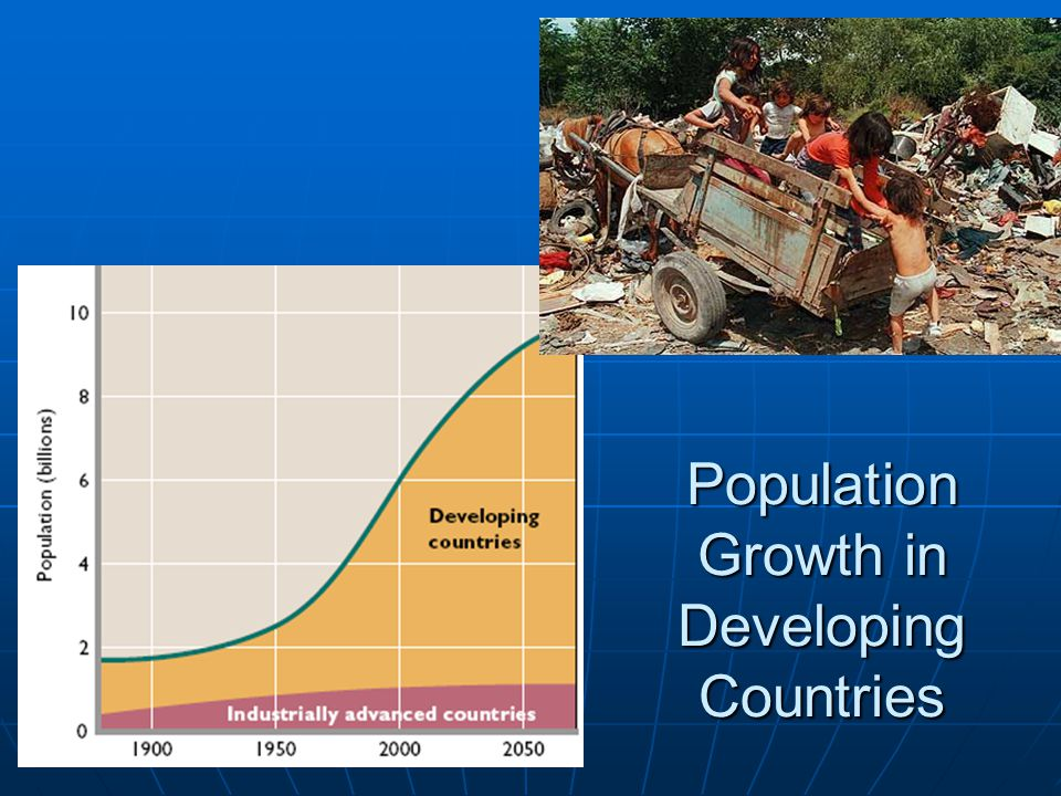 Population Growth in Developing Countries