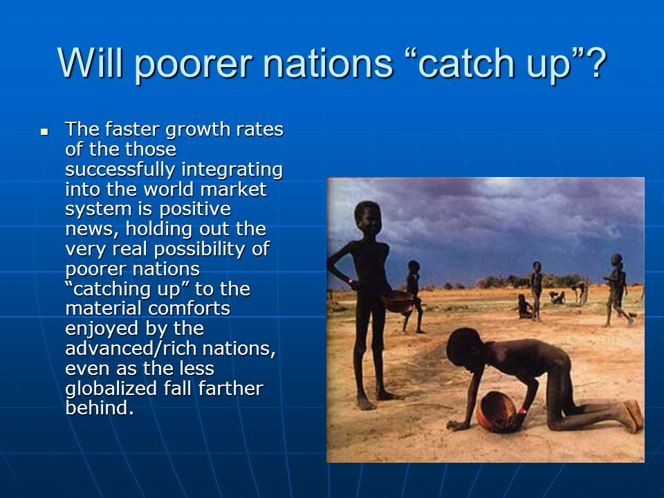 Will poorer nations catch up