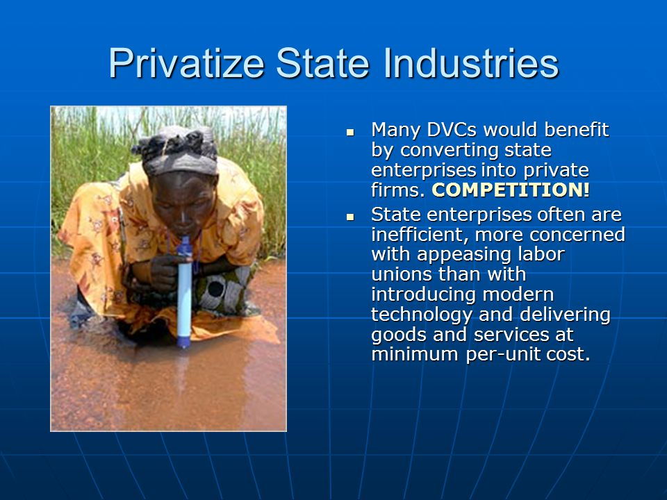 Privatize State Industries
