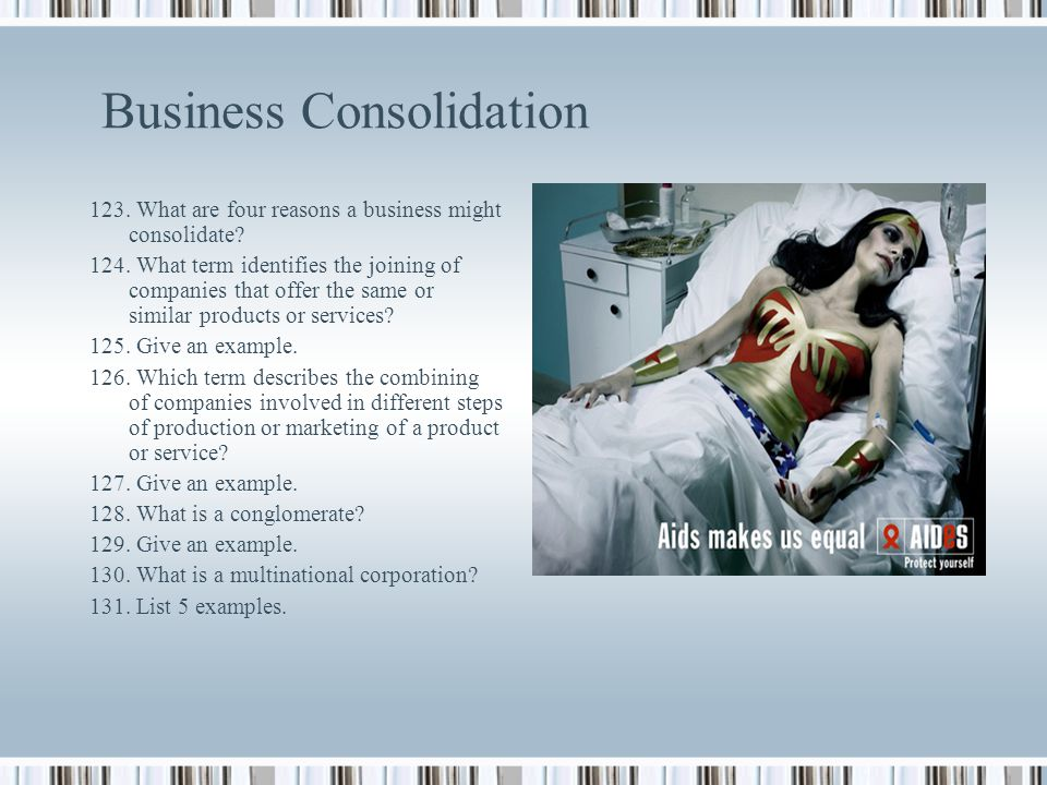 Business Consolidation