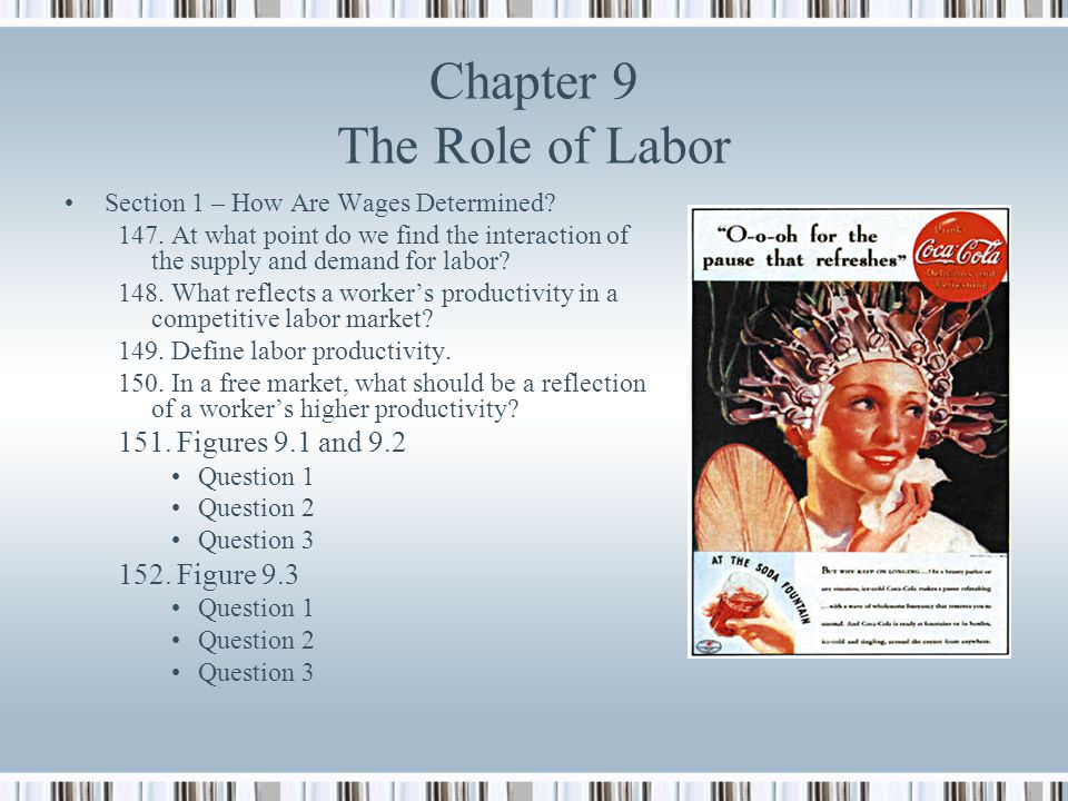 Chapter 9 The Role of Labor