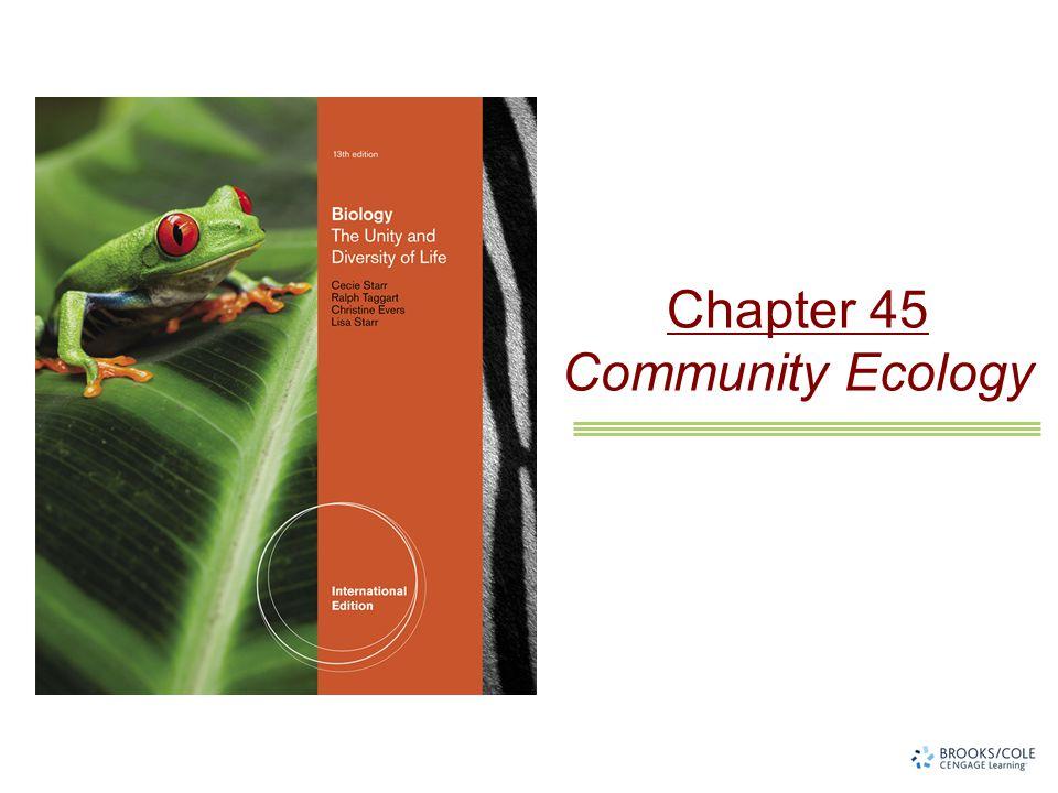 Chapter 45 Community Ecology