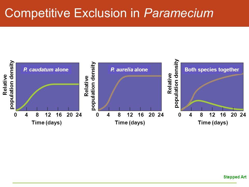 Competitive Exclusion in Paramecium