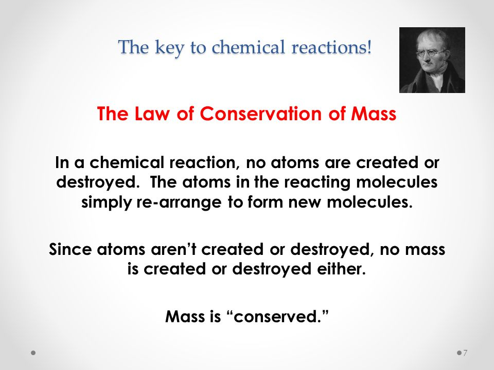 The key to chemical reactions!