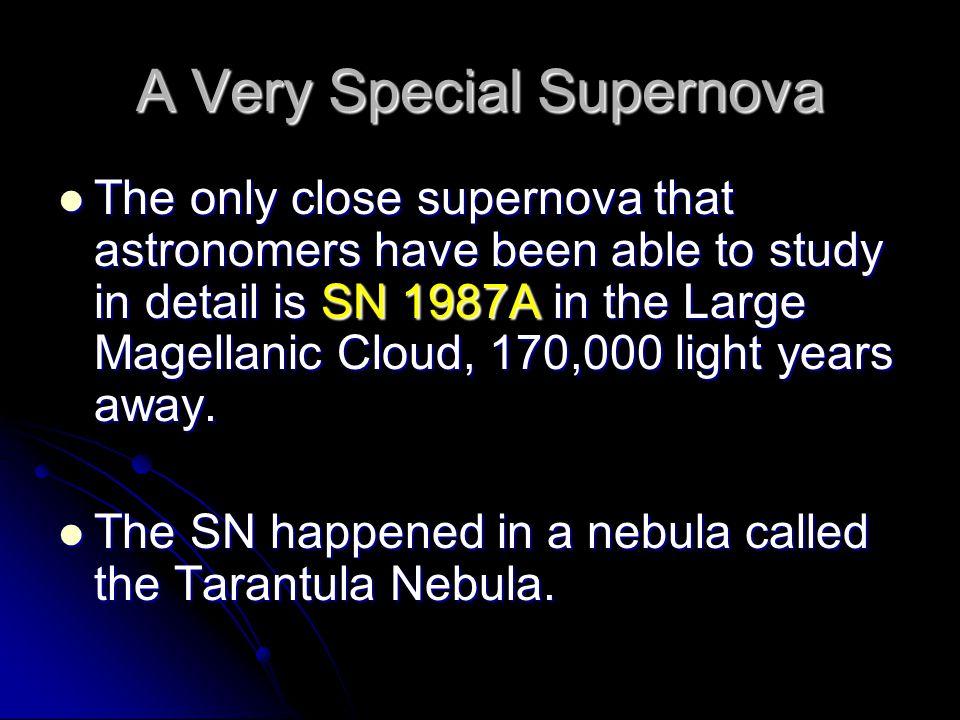 A Very Special Supernova