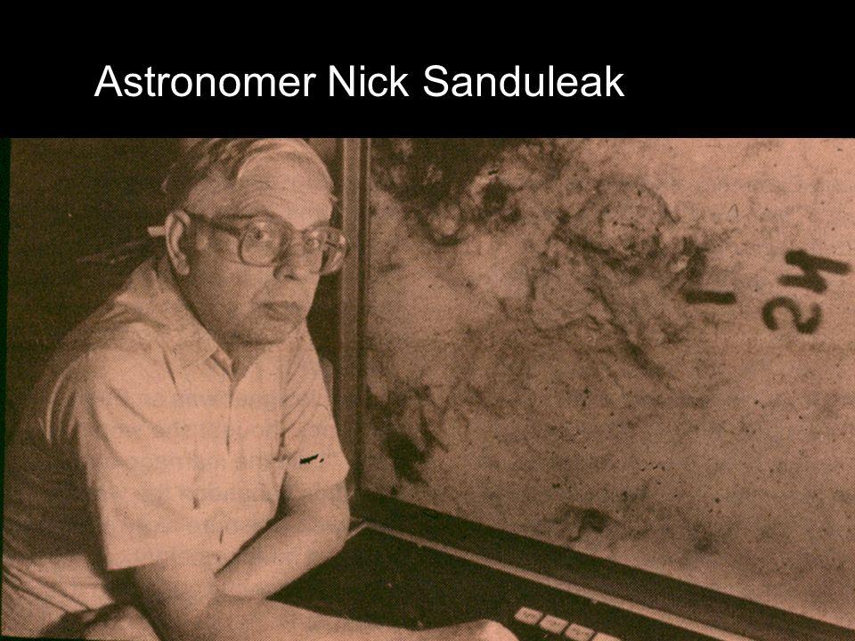 Astronomer Nick Sanduleak