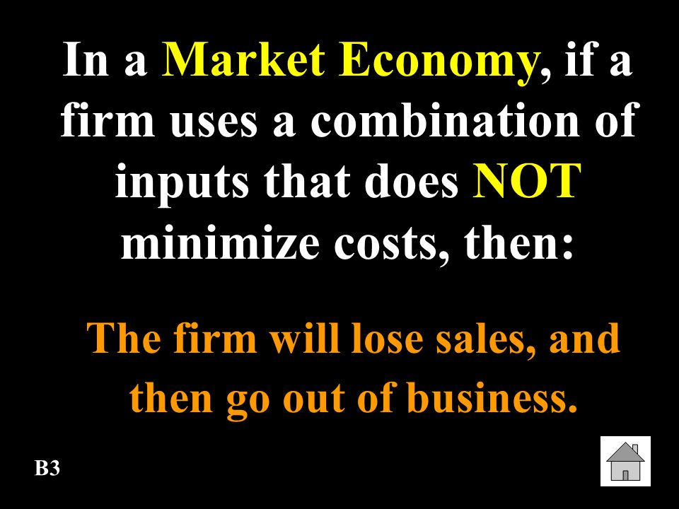 The firm will lose sales, and then go out of business.