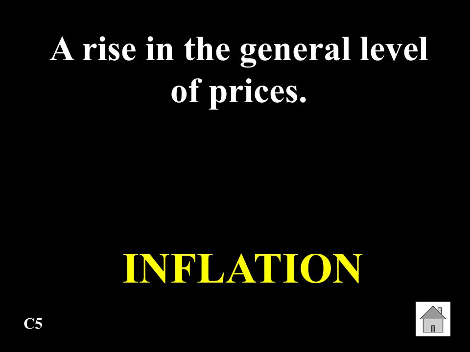 A rise in the general level of prices.