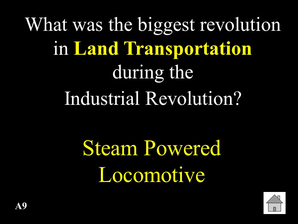 Steam Powered Locomotive