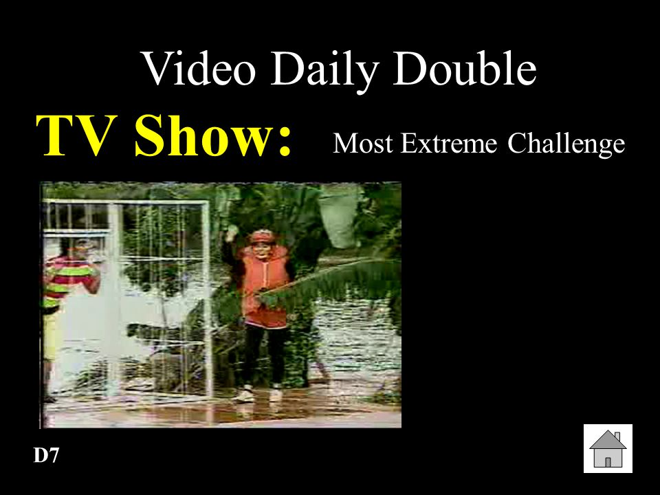Most Extreme Challenge