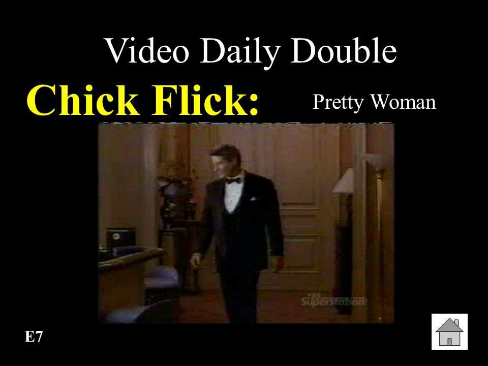 Video Daily Double Chick Flick: Pretty Woman E7