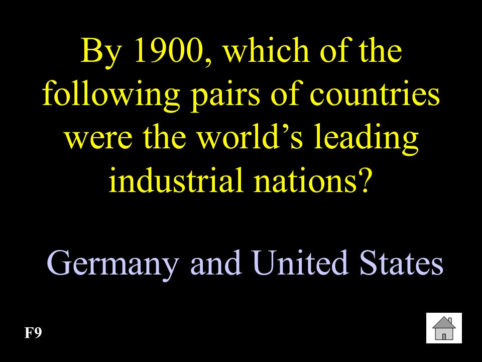Germany and United States