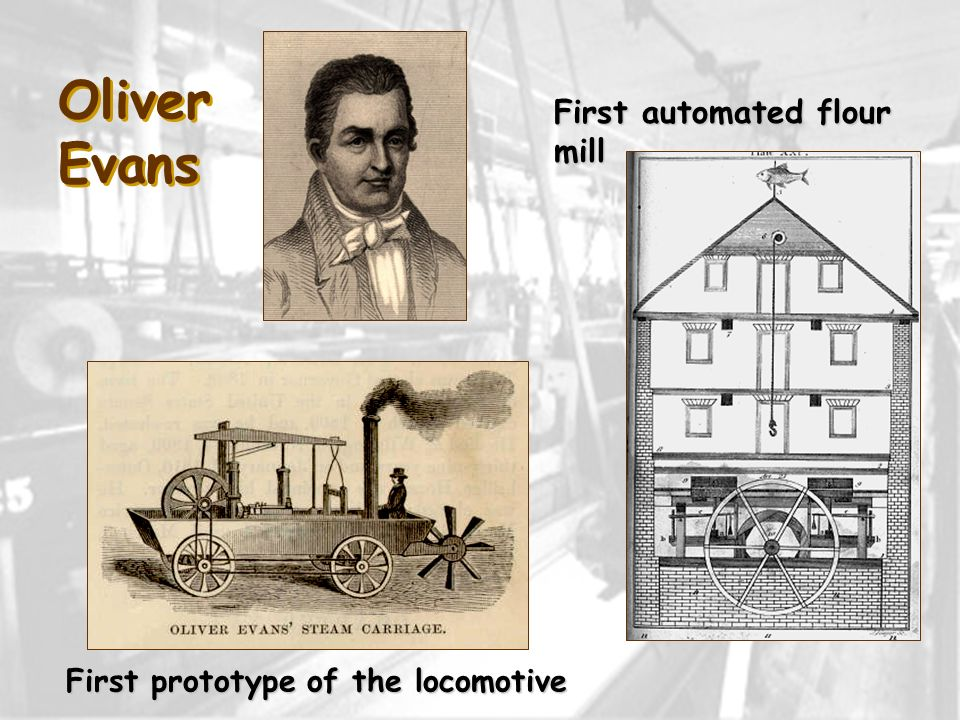 First prototype of the locomotive