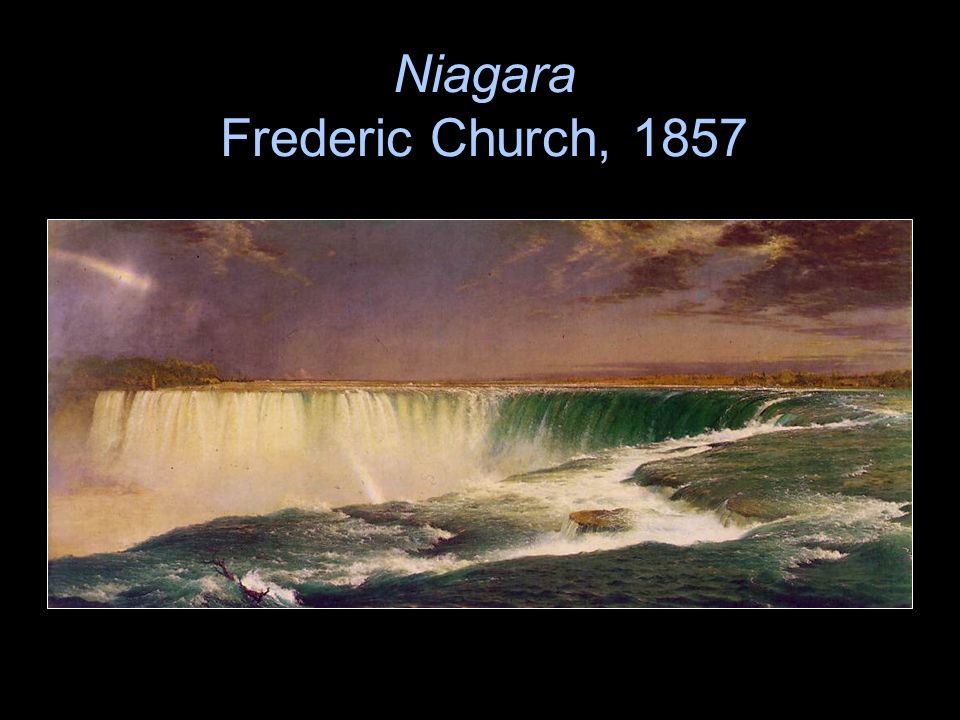 Niagara Frederic Church, 1857