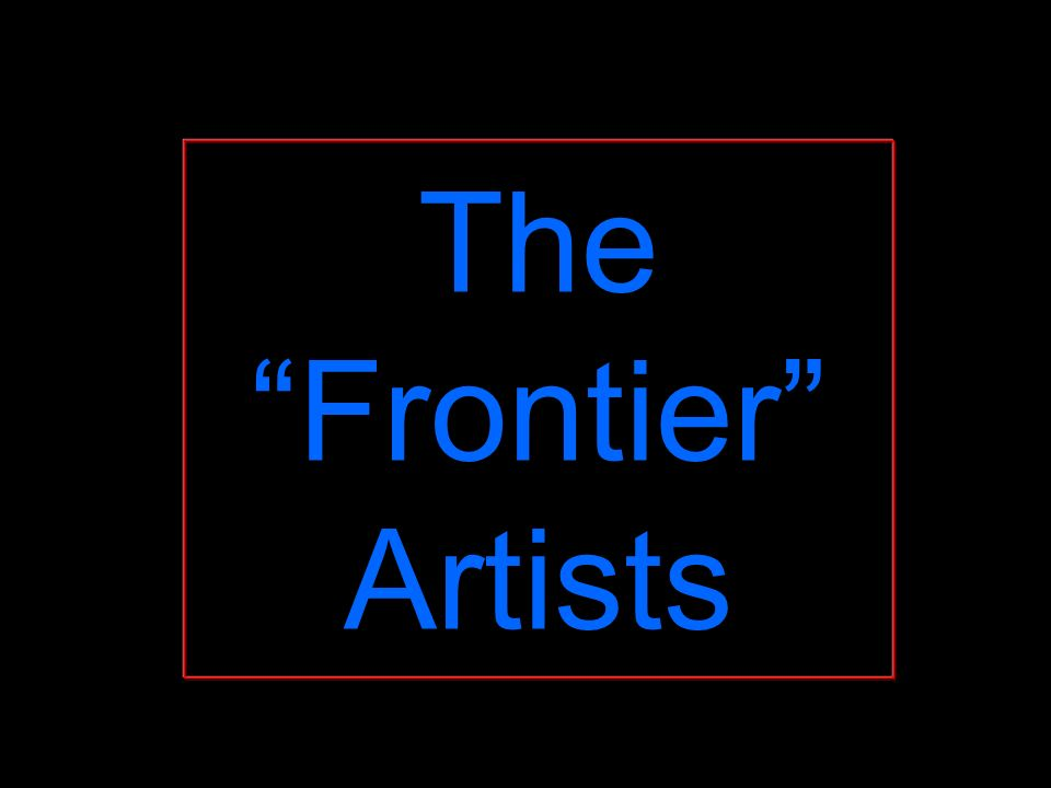 The Frontier Artists