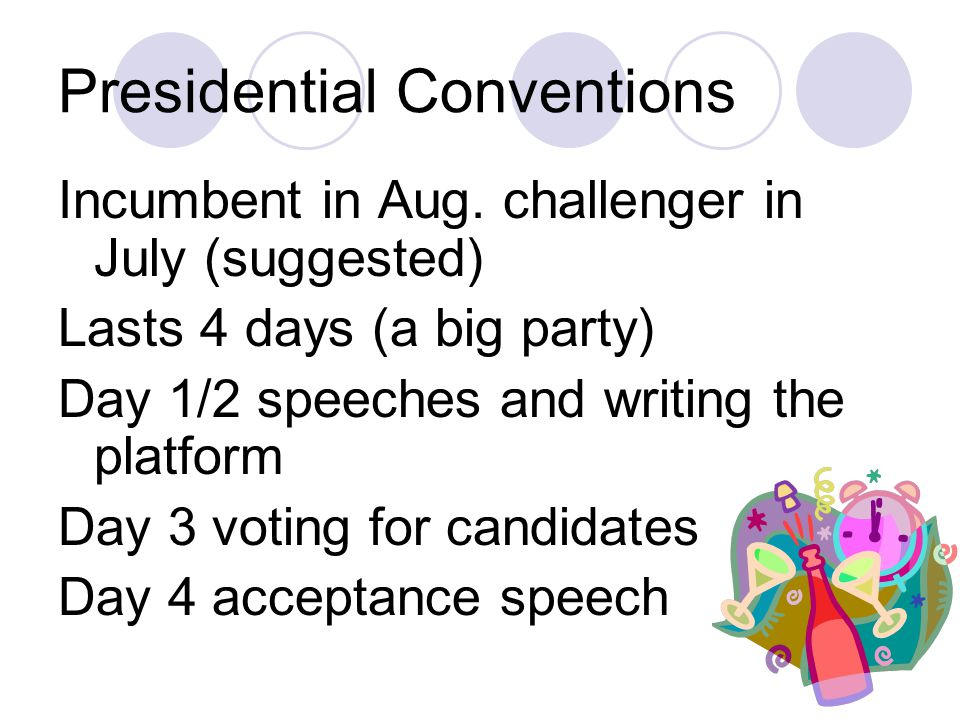 Presidential Conventions