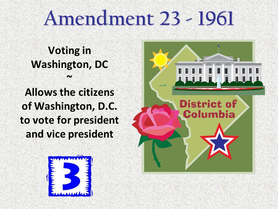 Voting in Washington, DC