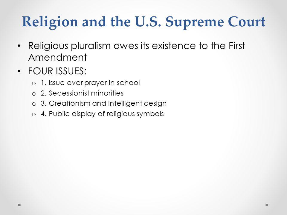Religion and the U.S. Supreme Court
