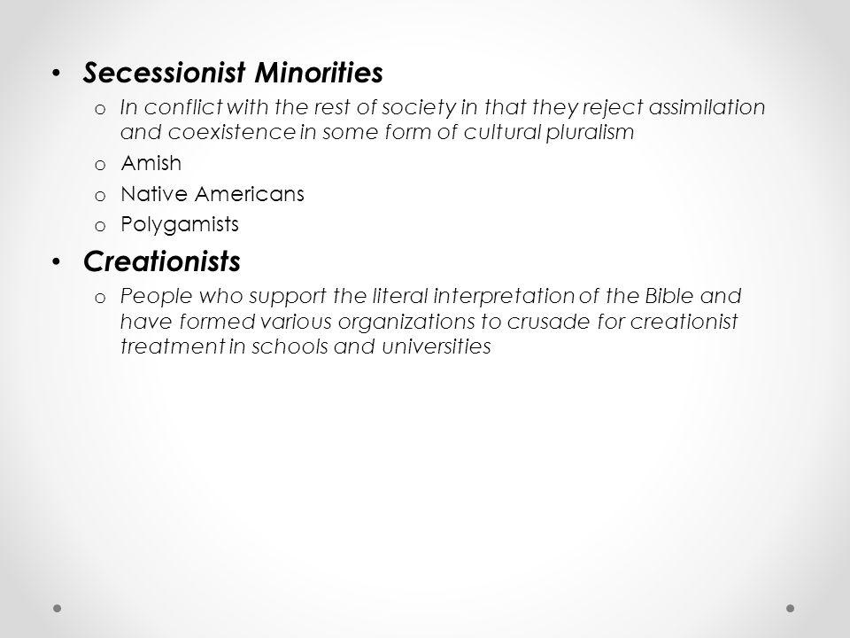 Secessionist Minorities
