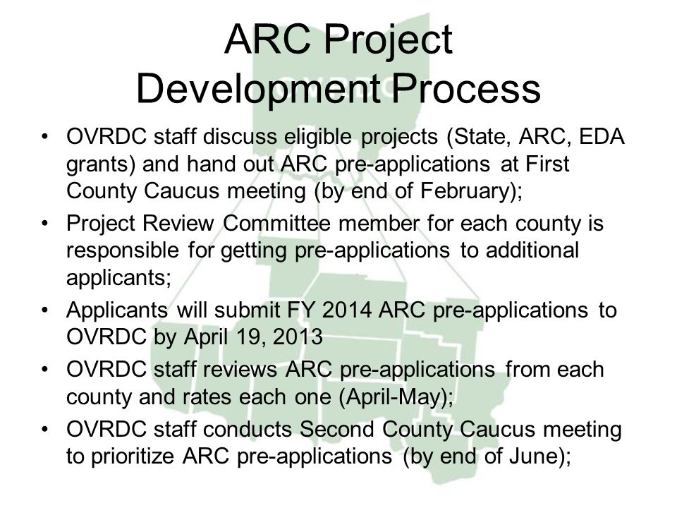 ARC Project Development Process