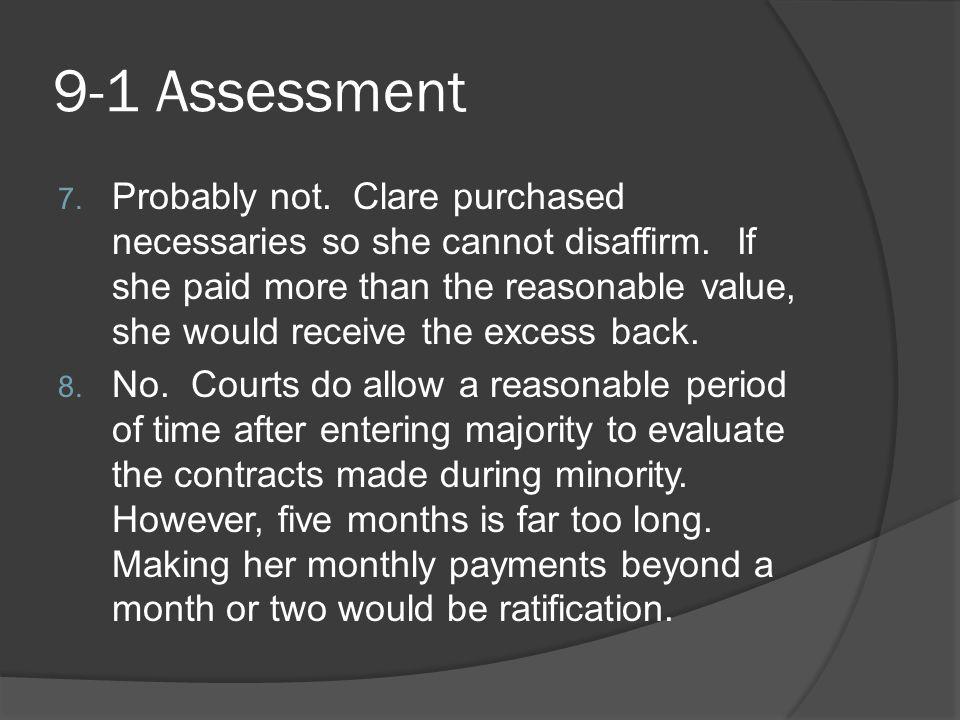 9-1 Assessment