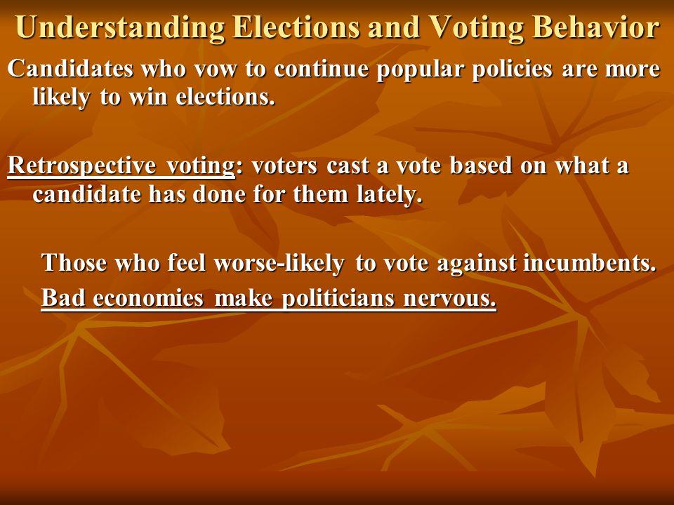 Understanding Elections and Voting Behavior