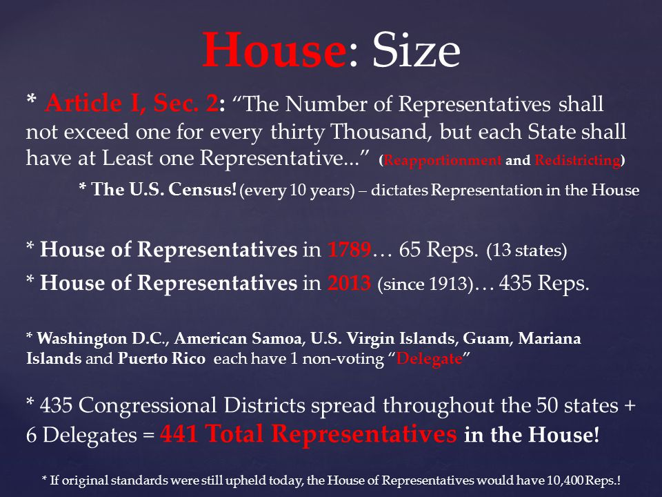 House: Size