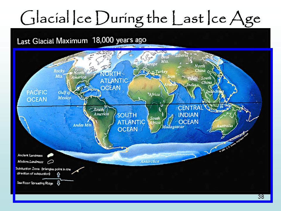 Glacial Ice During the Last Ice Age