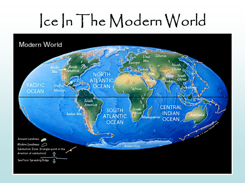 Ice In The Modern World