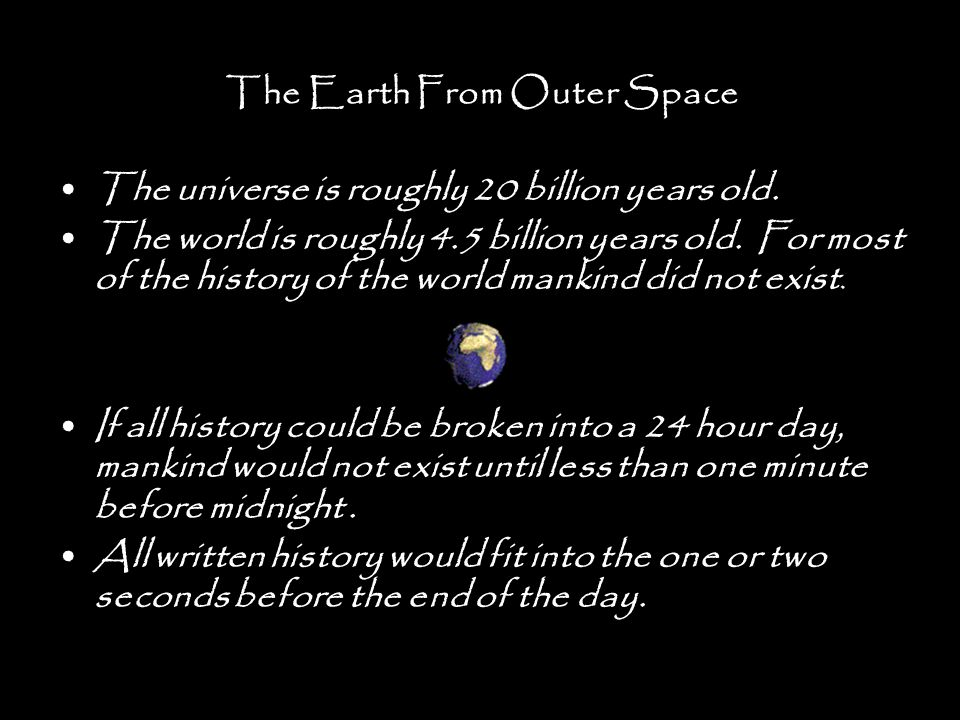 The Earth From Outer Space